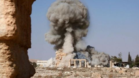 """UNESCO, the United Nations cultural organization, called the destruction of the Temple of Baalshamin a """"war crime."""""""