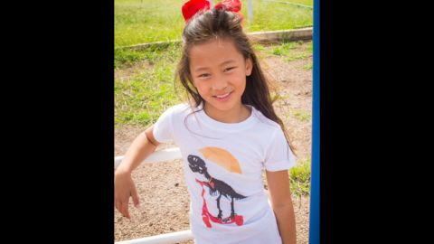 """<a href=""""http://princessfreezone.com/landing/"""" target=""""_blank"""" target=""""_blank"""">Princess Free Zone </a>offers empowering T-shirts with images such as dinosaurs, skateboards and soccer balls. """"Kids should not have to be brave to wear the things they like,"""" says founder Michele Yulo."""