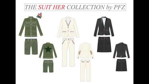 Yulo hopes to offer suits made for girls through her new line, Suit Her.