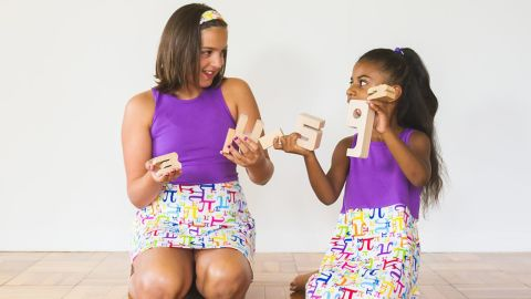 """Girls can love dresses and dinosaurs at the same time, which is the thinking behind <a href=""""http://www.princess-awesome.com/"""" target=""""_blank"""" target=""""_blank"""">Princess Awesome</a>. The company creates dresses with motifs that are traditionally found on boys' clothes."""