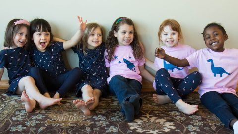 """The company<a href=""""http://www.buddingstem.com/"""" target=""""_blank"""" target=""""_blank""""> buddingSTEM</a> offers a line of girls' clothes celebrating girls' interests in science, engineering, technology and math."""