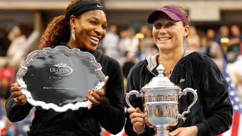 Williams coming second in a grand slam final is rare: Her record in major finals stands at 21-4.