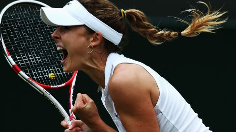 Who was the last player to beat Williams at a grand slam? It's Razzano's countrywoman, Alize Cornet. She did it last year at Wimbledon.