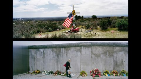 Top: California, East of Campo; USA, 2011. Bottom: Berlin, Bernauer Stra§e; Germany, 2011.