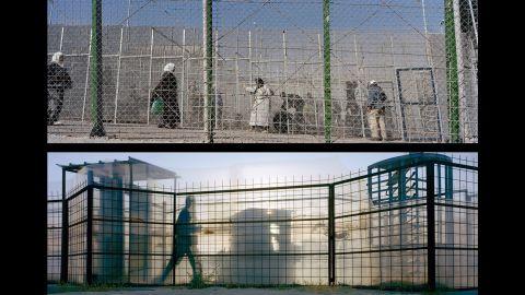 Top: Mellila, Barrio Chino; Spain, 2009. Bottom: Gaza, Gush Katif Settlement; Occupied Palestinian Territories, 2005.