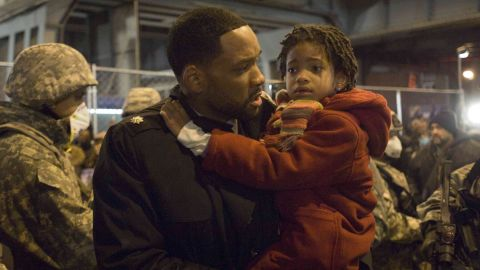 """Smith appeared with her dad in the 2007 film """"I Am Legend."""""""