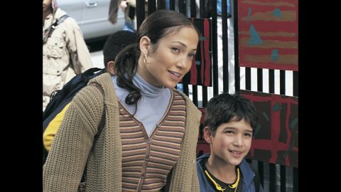 """Posey co-starred with Lopez in """"Maid in Manhattan"""" in 2002."""