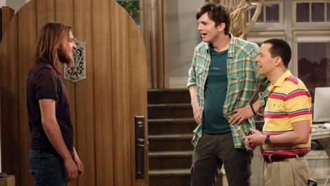 """Angus T. Jones, left, grew up before viewers' eyes on the hit CBS series """"Two and a Half Men."""""""