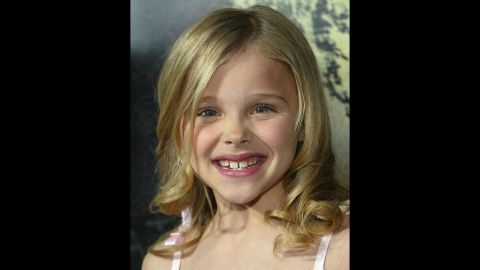 """As a child, Moretz also had starring roles in movies like """"The Amityville Horror,"""" which she appeared in at age 8."""