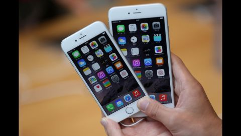 Last year, Apple enlarged the<strong> iPhone 6</strong> and introduced an even larger model, the iPhone 6 Plus. Both were seen as attempts to compete with popular rival devices from Samsung and other makers. The iPhone 6, left, featured a 4.7-inch display (measured diagonally) but was dwarfed by the iPhone 6 Plus and its 5.5-inch screen. Both devices ran  iOS 8.