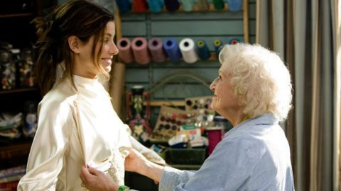 """The 2009 film """"The Proposal,"""" in which White played the grandmother of Ryan Reynolds' character, gave her a new boost in popularity. She and co-star Sandra Bullock, left, exchanged jokes at the 2010 Golden Globe Awards, at which White was given a lifetime honor."""