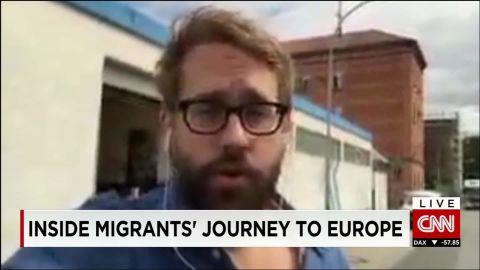 exp Paul Ronzheimer, journalist, Bild, discusses the migration crisis in Europe. _00002001.jpg