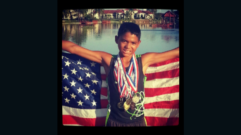 Michael John Riley Jr., 14, died after contracting a brain-eating amoeba while swimming with his cross-country team.