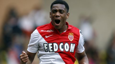 Manchester United splashed a reported $55 million on 19-year-old  French forward Anthony Martial, who agreed a four-year deal to leave Monaco ahead of the September 1 British deadline.