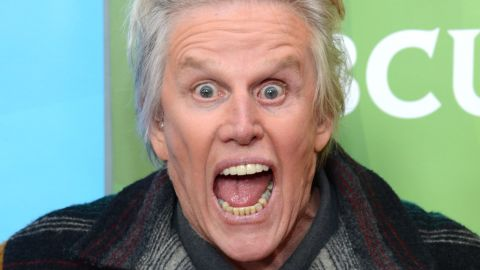 """Actor Gary Busey was eliminated on week four of the show. Busey earned an Academy Award nomination for best actor for his performance in the title role in """"The Buddy Holly Story"""" (1978), he's also known for his off-the-wall antics. His other film credits include """"The Firm,"""" Point Break"""" and """"Lethal Weapon."""" He won Celebrity Big Brother UK in 2014. He was voted off in week four."""