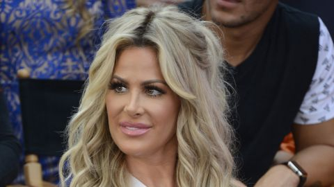 """""""Real Housewives of Atlanta"""" reality star Kim Zolciak-Biermann suffered a mini-stroke and withdrew from the competition in week three. Because she left the show, no one else was eliminated that week."""