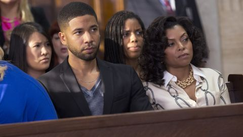 """Jussie Smollett's portrayal of the gay character Jamal Lyon on the hit Fox series """"Empire"""" helped the network score the first """"excellent"""" rating for a major TV network in GLAAD's final edition of the Network Responsibility Index."""
