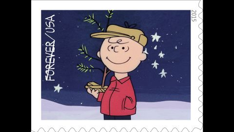 """The U.S. Postal Service will get a jump on the holiday season by dedicating its """"A Charlie Brown Christmas"""" stamps on Thursday, October 1. The series of 10 stamps feature scenes from the perennial TV special that will celebrate its 50th anniversary this December."""