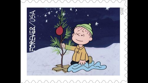 Linus is an early supporter of Charlie Brown's tree. Earlier, when Charlie Brown wonders aloud whether there's anyone who knows what Christmas is all about, Linus recites the biblical Nativity story.