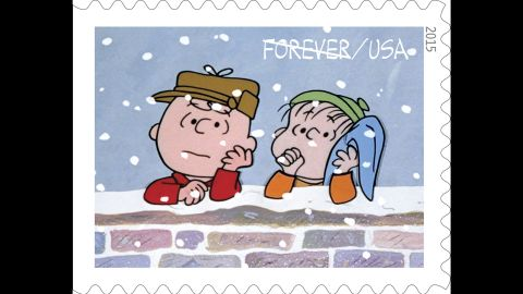 As the TV special begins Charlie Brown, here with Linus, is depressed about the overcommercialization of Christmas.