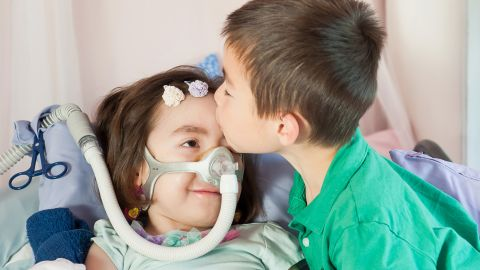 Counseling helped prepare her brother, Alex, 7, for his younger sister's death. He asked whether his mom's heart would stop beating when his sister died because she would be so sad.