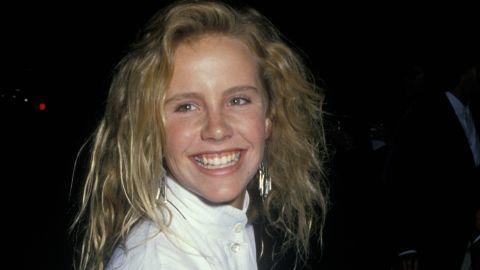 Amanda Peterson, seen here as a teenager in 1988, died in July at age 43.