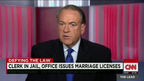 kentucky clerk marriage licenses huckabee intv lead_00001219.jpg