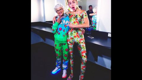 Helen Van Winkle, 87, has 1.5 million Instagram followers and likes to hang with Miley Cyrus.