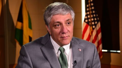 Luis Moreno, the U.S ambassador to Jamaica, says the scams are a cancer to society.