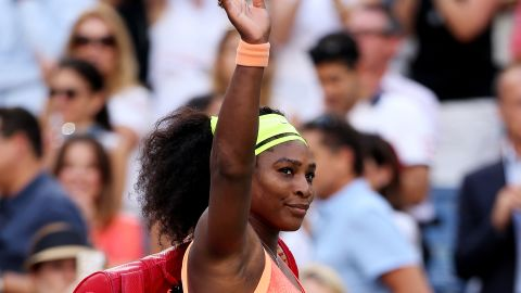 Serena Williams walks off of the court after losing to Roberta Vinci of Italy during the Women's Singles Semifinals at the 2015 US Open.