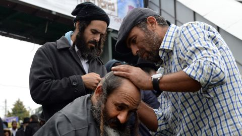 Getting a hair cut and the wearing of new clothes is customary during Rosh Hashanah.