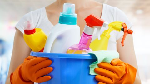Household cleaning products are the second-leading cause of poison exposures in children younger than 6, according to the American Association of Poison Control Centers.