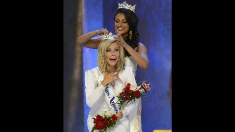 Miss America 2015 winner, Kira Kazantsev.