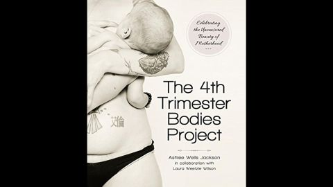 """Suffering from the loss of a daughter, photographer Ashlee Wells Jackson felt the pain of women who felt their bodies had betrayed them. Through taking pictures of women's bodies after they had children, she and business partner Laura Weetzie Wilson launched <a href=""""http://4thtrimesterbodies.com/"""" target=""""_blank"""" target=""""_blank"""">""""The 4th Trimester Bodies Project""""</a> to celebrate images of women's bodies that are """"beautiful and honest and realistic."""" Jackson's  body graces the book's cover. Click through the gallery to see pictures and read the words of other women in the project."""