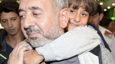 Osama Abdul Mohsen and his son Zaid eventually moved to Spain, where Mohsen was offered a job.
