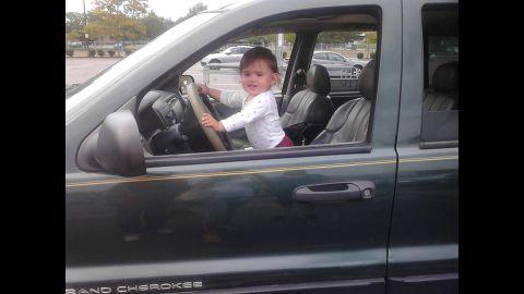 """Baby Doe"" has been identified as Bella Bond, seen here in a Facebook photo."