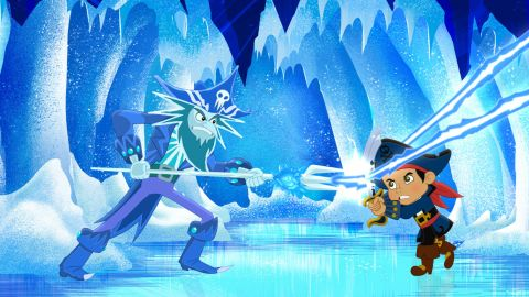 """<a href=""""http://disneyjunior.disney.com/jake-and-the-never-land-pirates"""" target=""""_blank"""" target=""""_blank"""">Disney Junior's Captain Jake</a> is all the rage with the pre-tween set. Based on Disney's Peter Pan franchise, """"Captain Jake and the Never Land Pirates"""" follows the adventures of Jake and his young band of pirates as they battle Captain Hook and Mr. Smee for treasure."""