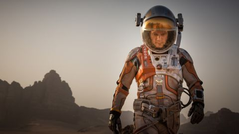 """Matt Damon's Golden Globes nomination for best actor in a musical or comedy for his role in """"The Martian"""" has some scratching their heads. Other nominees are Christian Bale (""""The Big Short""""), Steve Carell (""""The Big Short""""), Al Pacino (""""Danny Collins"""") and Mark Ruffalo (""""Infinitely Polar Bear"""")."""