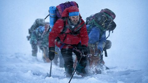 """The film """"Everest"""" follows two expeditions to summit the peak in 1996."""