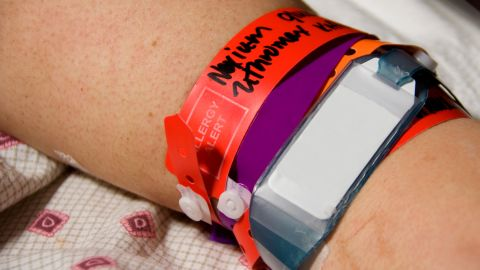 Hospitals sometimes confuse people who have similar names. Before every procedure in the hospital, make sure the staff checks your entire name, your date of birth and the bar code on your wrist band.