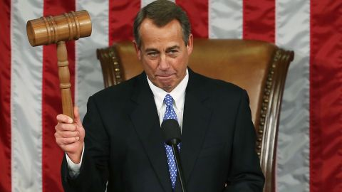 John Boehner has been the speaker of the U.S. House of Representatives since 2011, making him second in line for the presidency, behind the vice president. On September 25, Boehner told colleagues he's stepping down as speaker and will leave Congress at the end of October. Look back at his career in politics so far.