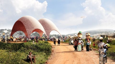 """In 2016, British architect Norman Foster designed the world's first <a href=""""https://edition.cnn.com/style/gallery/rwanda-droneport-foster-epfl/index.html"""" target=""""_blank"""">""""airport for drones""""</a> in Rwanda.<br />"""