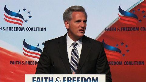 ####2014-06-20 00:00:00 Shot 06/20/2014.## NS Slug: FAITH & FREEDOM:REP MCCARTHY WALKUP    Video Shows: Newly elected Majority Leader Rep Kevin McCarthy walks up to podium      Keywords:   ##