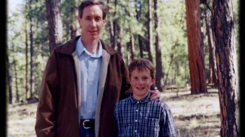 Warren Jeffs with his son, Roy Jeffs