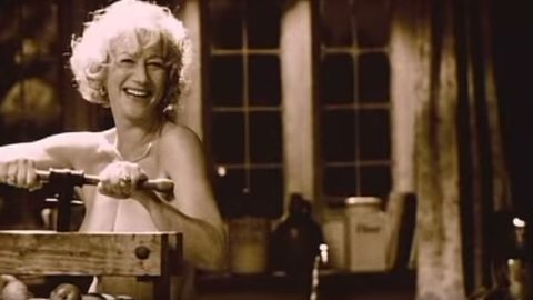 """Helen Mirren has appeared in several films topless or nude, including 2003's """"Calendar Girls,"""" but she told Alan Cumming for the CBS show """"Remember That Time?"""" that those days are behind her."""