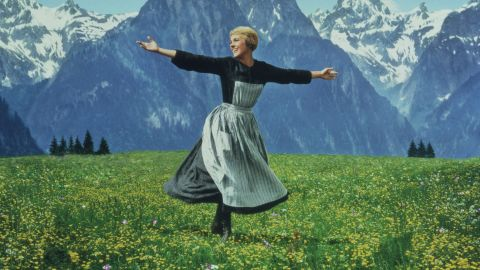 """Andrews plays the iconic Maria von Trapp in 1965's """"The Sound of Music."""""""