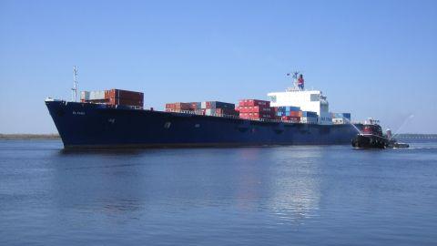 The El Faro: A container ship missing in Hurricane Joaquin.