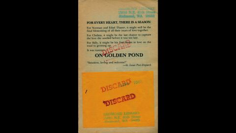 """On Golden Pond,"" Ernest Thompson"