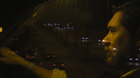 """Tom Hardy starred in """"Locke,"""" a 2013 drama. His character spent the entire movie alone in a car, talking on the phone while driving to a fateful rendezvous."""