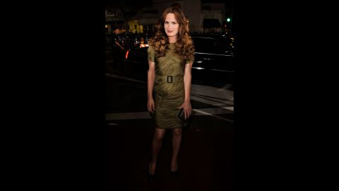 """Elizabeth Reaser looked familiar to """"Grey's Anatomy"""" fans when she arrived at the premiere of """"Twilight's"""" L.A. premiere in November 2008 because she'd just wrapped a recurring guest role on the hit ABC medical series."""